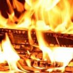 נזק אש מכוסה במסגרת ביטוח מבנה לדירה